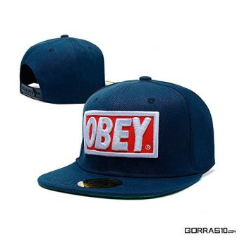 Obey-Azul Oscuro